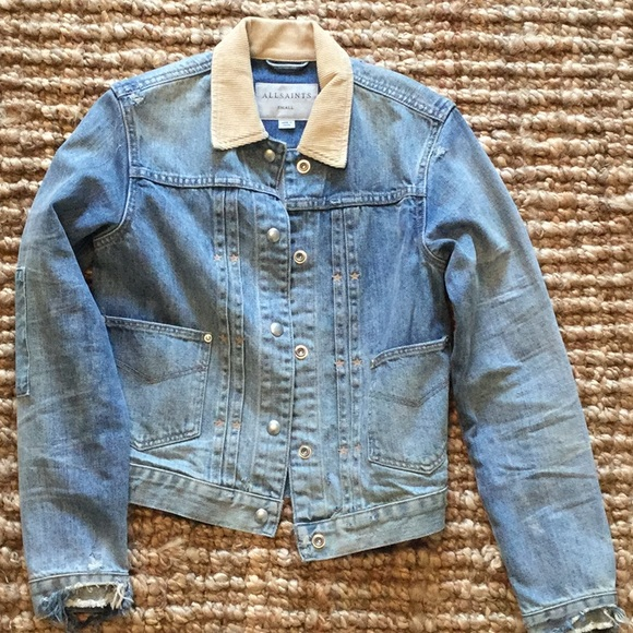 101dac45e3 All Saints Jackets & Blazers - All Saints denim jacket- size small